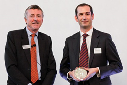 Richard Parkinson and Matthew Davies, Bank of America Merrill Lynch accepting on behalf of Nokia Siemens Networks