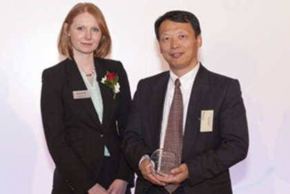 Photo of Eleanor Hill and Jiming Chen