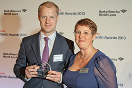 Paul Greenhaigh, Bank of America Merrill Lynch collecting on behalf of Eva Price