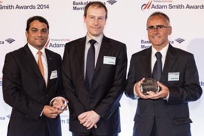 Anirudha Panse, Citi, David Walton and Michael Hamilton, NHS Business Services Authority