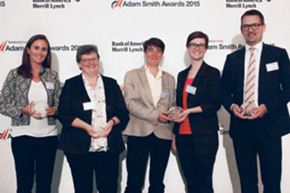 Séverine Bellens, BNP Paribas, Brigitta Keller, Citi, Corinne Mérat and Isabel Paris, Firmenich SA and Kristian Rygh, Nasarius