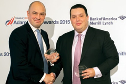 David Aldred, Citi and Adam Boukadida, Etihad Airways