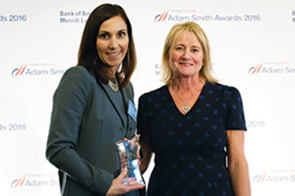 Kate Oddo, Toyota Financial Services and Angela Berry