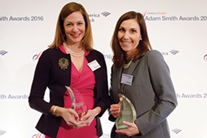 Patrice Altongy, Citi and Kate Oddo, Toyota Financial Services