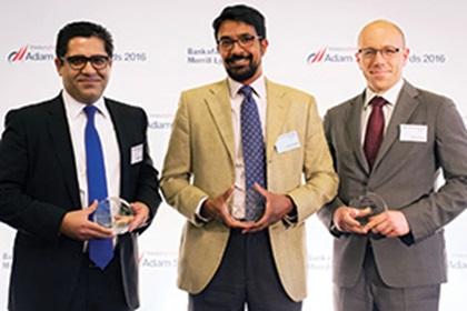 Sanjay Sethi, Citi, Ashwin Ramji, World Vision International and Daniel Hanna, Standard Chartered