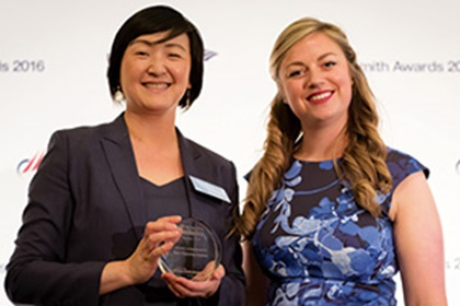 Cindy Wang, Toyota Financial Services and Meg Coates
