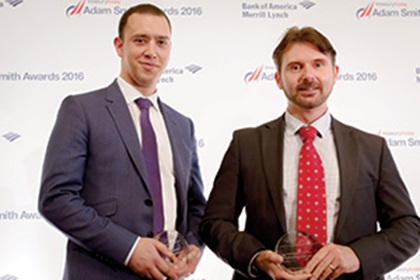Duncan Karran, Jaguar Land Rover and James Mitchell, Reval