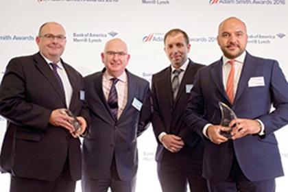 Dave Gannon, David Kelly, Edwin Forrest, Horizon Pharma and Alex Weaving, J.P. Morgan