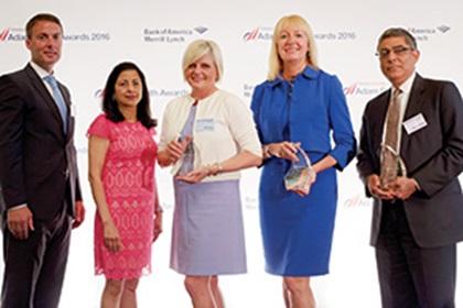 Neil Doyle, Anita Prasad and Jayna Bundy, Microsoft, Barbara Harrison, Citi and Mohit Manaktala, Bank of America Merrill Lynch