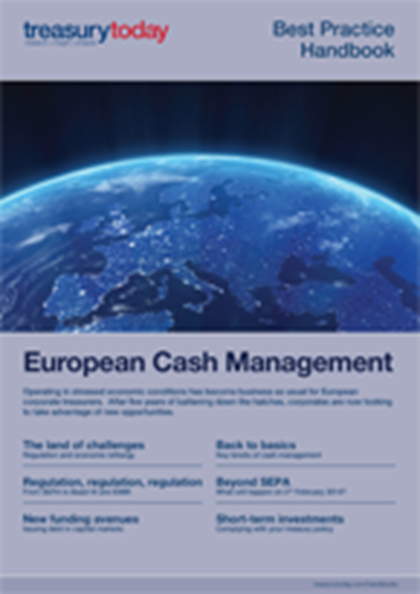 Treasury Today European Cash Management handbook
