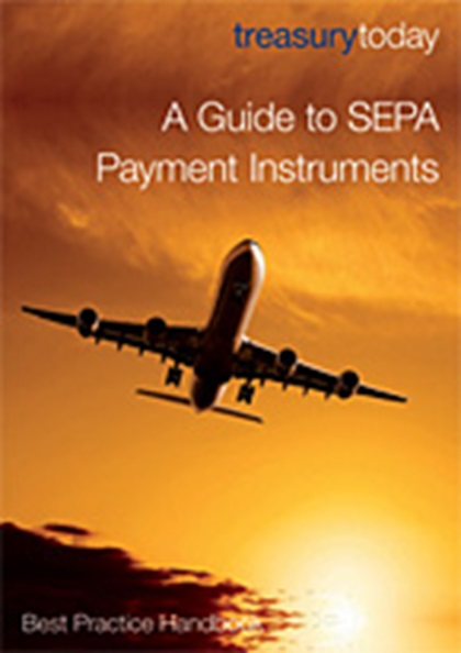 Cover of treasurytoday Handbook: A Guide to SEPA Payment Instruments