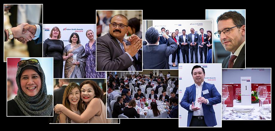 Adam Smith Awards Asia 2019 photo montage