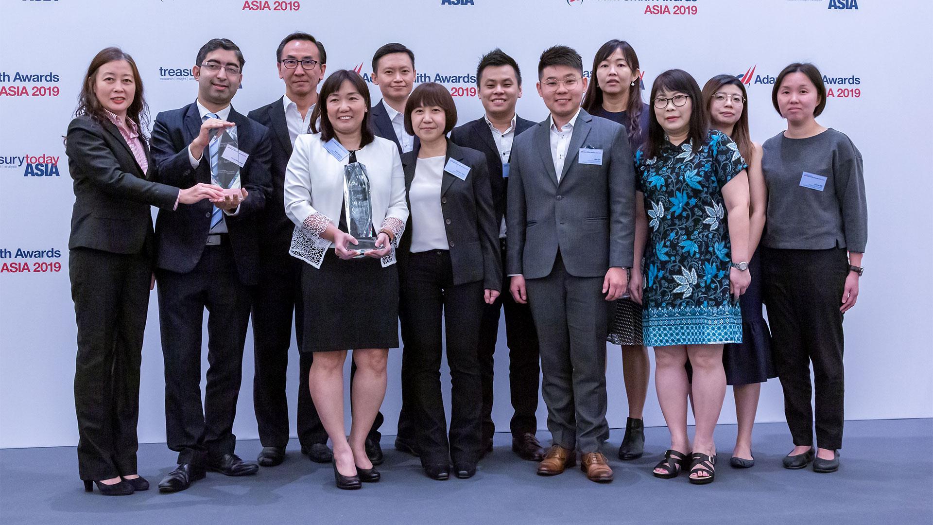 Adam Smith Awards Asia 2019 Top Treasury Team