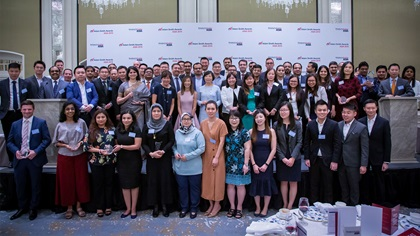 Adam Smith Awards Asia 2019 winner group photo