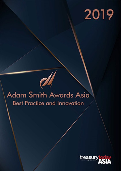 Treasury Today Asia Adam Smith Awards Asia 2019 Yearbook cover