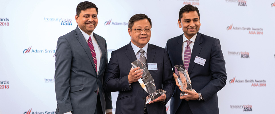 Photo of Ng Cheng Chang, Dell Technologies and Saurabh Gupta, Citi