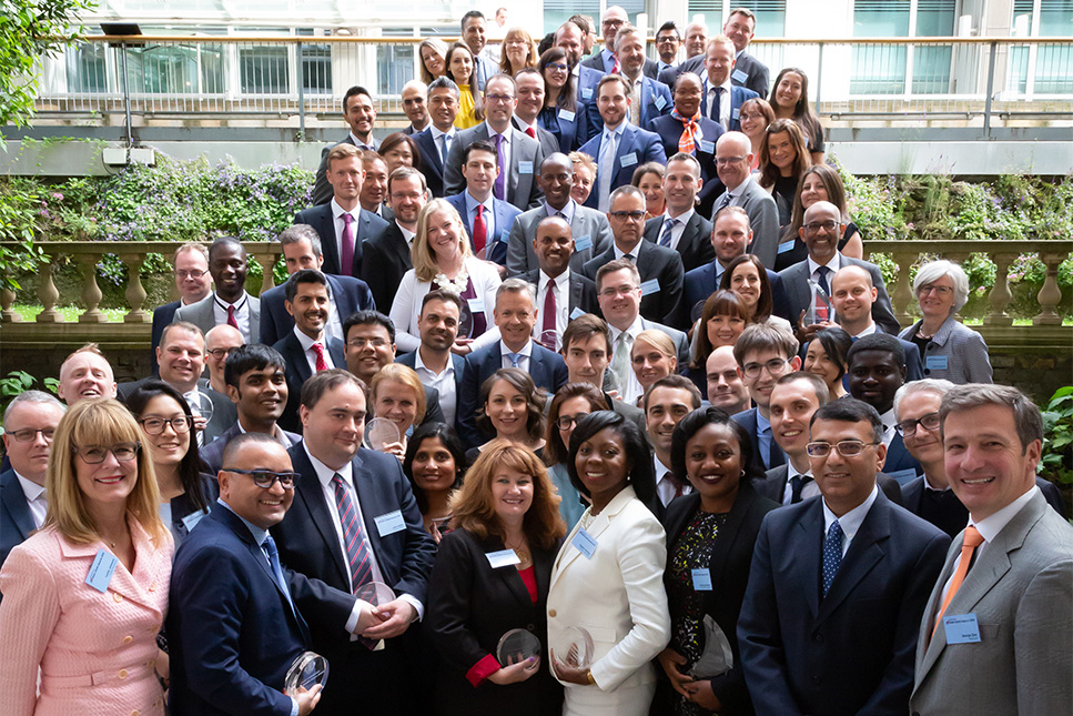 Adam Smith Awards 2019 winner group photo