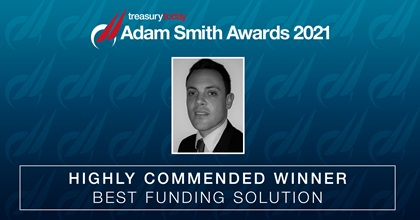 Best Funding Solution Highly Commended: Rolls-Royce plc