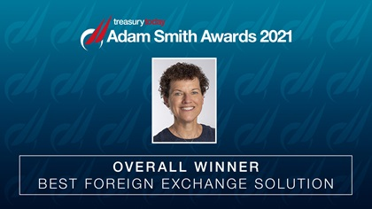 ASA 2021 Best Foreign Exchange Solution Winner: Tesco plc