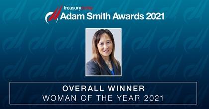 Woman of the Year 2021 Winner: Phung Ngo-Burns, Chief Accounting Officer & Treasurer