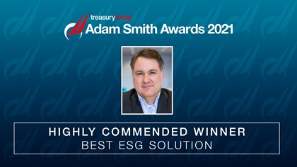ASA 2021 Best ESG Solution Highly Commended: Dürr AG