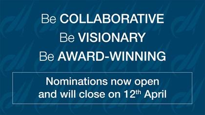Nominations open Hero Image