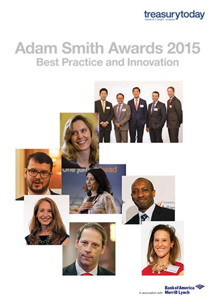 Adam Smith Awards Yearbook 2015 cover