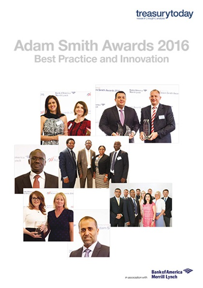 Adam Smith Awards Yearbook 2016 cover