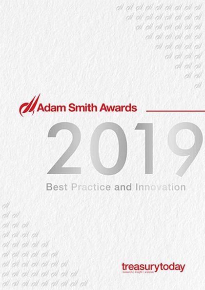 Treasury Today Adam Smith Awards 2019 yearbook