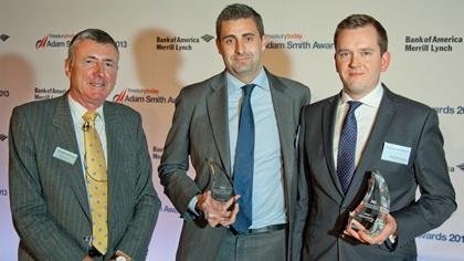 Photo of Richard Parkinson, Steven Elms, Citi and David Swainston, Procter & Gamble