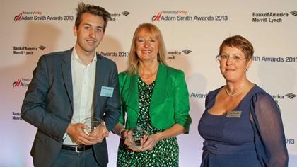 Dominic Little, Thomson Reuters and Barbara Harrison, Citi