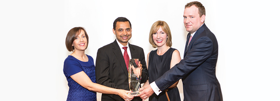Jennifer Cleary, Amit Singh, Margaret McDonnell and Barry McKernan from Pfizer