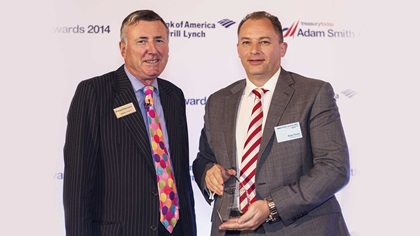 Richard Parkinson and Ricky Thirion, Etihad Airways