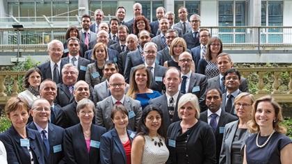 Adam Smith Awards 2014 winner group photo