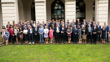 Adam Smith Awards 2016 winner group photo