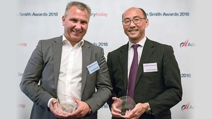 Marco Schuchmann, ASICS Europe B.V. and Sadachika Yoshioka, J.P. Morgan