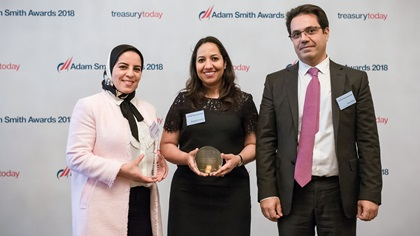 Imane Assakhen, Citi, Meryam El Jourani and Issam Sadiq, Vivo Energy Africa Services