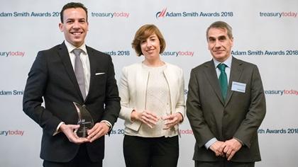 Fabio Monico, Bank of America Merrill Lynch, Vanessa Edesa Verde and Javier Urquidi, Iberdrola SA