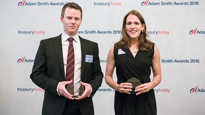 Michael Payne, National Express and Yuliya Komleva, Thomson Reuters