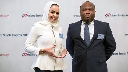 Asma Al Suwaidi and Kofi Aduku, Mubadala Investment Company