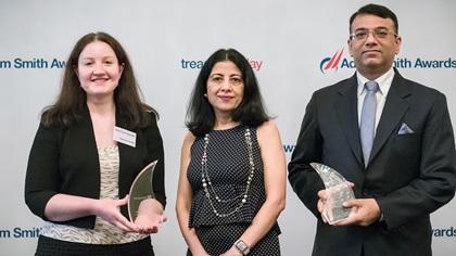 Natasha Condon, Citi, Anita Mehra and Rahul Daswani, Microsoft