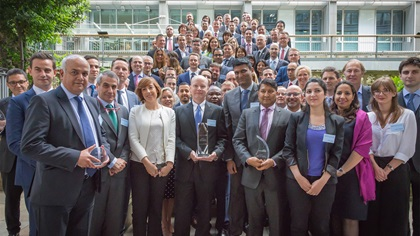 Adam Smith Awards 2018 winner group photo