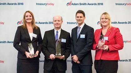 Treasury Today's Top Treasury Team 2018 Winner: Digital Realty Trust