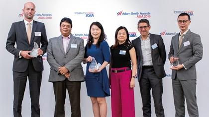 Thomas Aubry, Citi, Vipul Gupta, Chi May Koong, Yee Ling Choo and Enrique Patrikson, Electrolux S.E.A Pte Ltd and Swee Sun Tay, HSBC