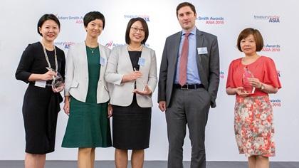 Lillian Sim, J.P. Morgan, Shania Ren, Rachel Wang and Nader Fleury, Saint-Gobain (China) Investments Co., Ltd and Chris Hua Chen, HSBC
