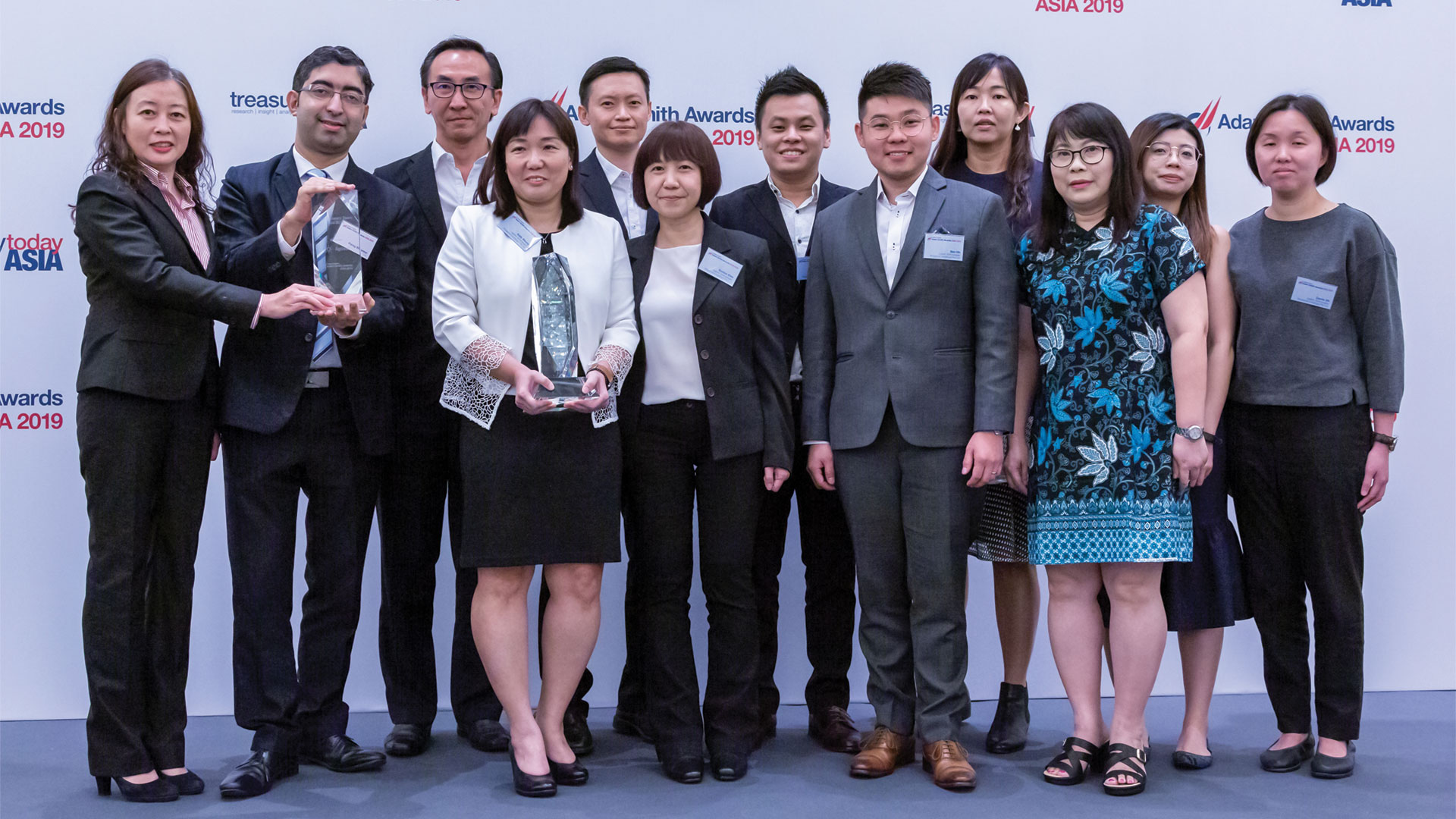 Photo of Linda Wu, Agilent Technologies Singapore (Holdings) Pte Ltd, Parag Bidarkar, Citi, Wai Kiat Yeo, Sally Shung, Nicholas Kwok, Eunice Chin, Hansheng Wang, Ben Oh, Ann Lee, Miliati Komaladi, Angelina Zhang and Carrie Oh, Agilent Technologies Singapore (Holdings) Pte Ltd. Absent due to leave – Christina Khong