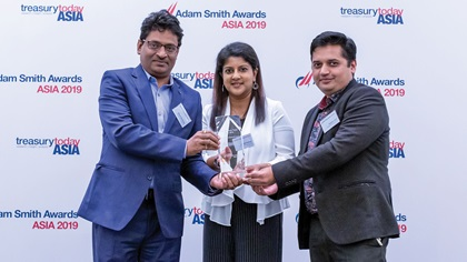 Photo of Bikash Mukherjee, Jeyanthi Vadivilu and Praveen Juyal, Amway India Enterprises Private Limited