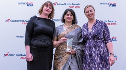 Photo of Sophie Jackson, Rashmi Joshi, Castrol India Ltd and Meg Coates