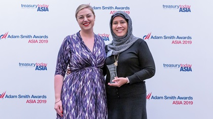 Photo of Meg Coates and Latifah Mohamed Yusof, Astro Malaysia Holdings Berhad