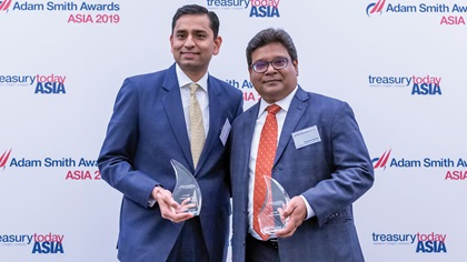 Photo of Saurabh R Gupta, Citi and Ramana Konda, Mondelez International AMEA Ltd